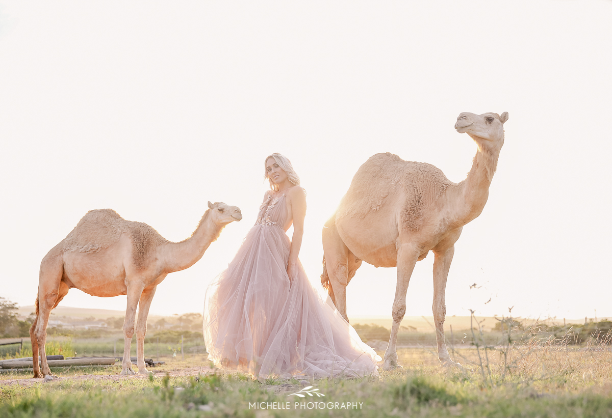 Camels Styled shoot with Gela le Roux